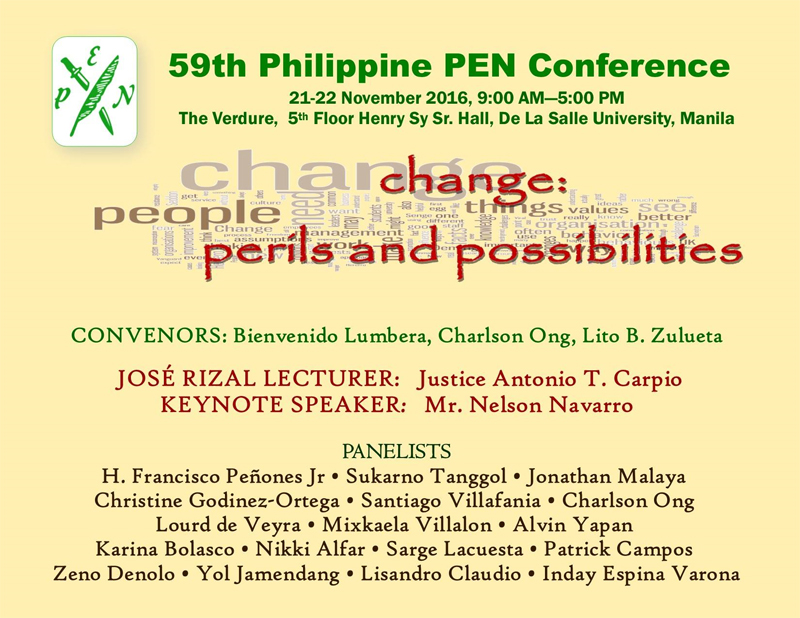 News and Updates | Philippine Center of International PEN
